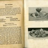Sample recipes and illustrations.